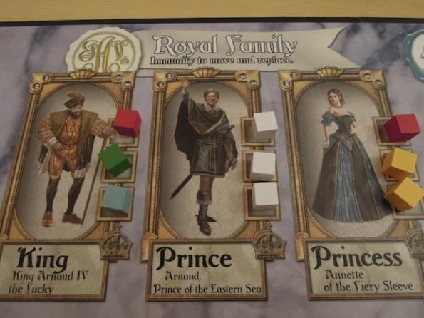 La famiglia reale di Tempest è al centro di Courtier
