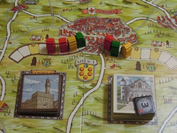 La lotta per il predominio a Firenze è sempre dura
