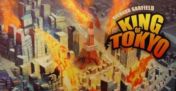 La copertina di King of Tokyo. Il gioco protagonista della prima puntata di Game Night