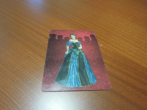 Il retro di tutte le carte di Love Letter è la figura della principessa Annette