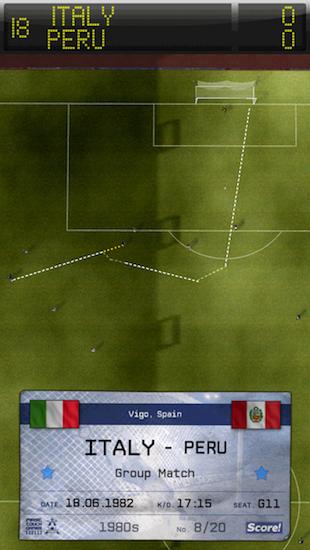 Il gol di Bruno Conti in Italia-Peru del 1982 è emozionante farlo rivivere sui nostri monitor