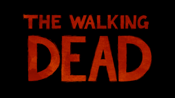 La schermata iniziale di The Walking Dead è l'inizio della nostra avventura
