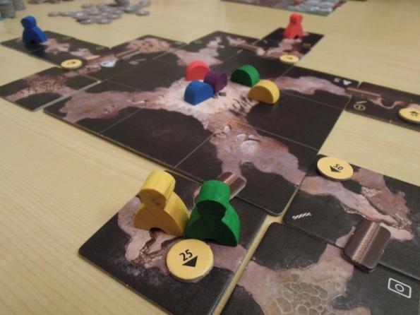 Una fase di gioco a The Cave