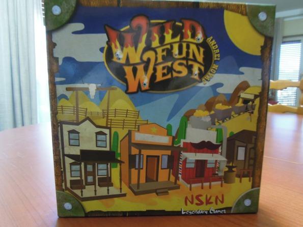 Lo scatolo di Wild Fun West