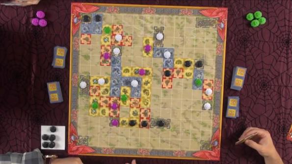 Uno scorcio della partita a Qin giocata durante Game Night