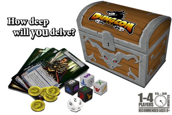 Un'immagine promozionale di Dungeon Roll