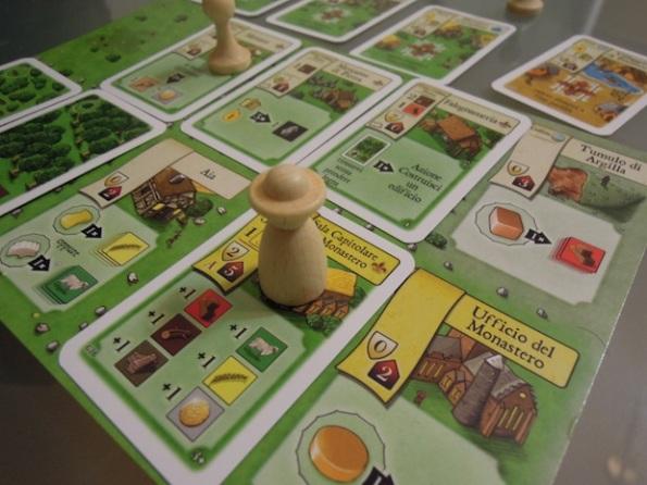 Ora et Labora è un gioco di monasteri e priori al lavoro come in questa occasione