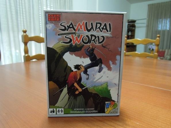 Lo scatolo di Samurai Sword, un netto passo avanti rispetto a Bang