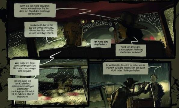 Steam Noir è una serie a fumetti molto famosa in Germania