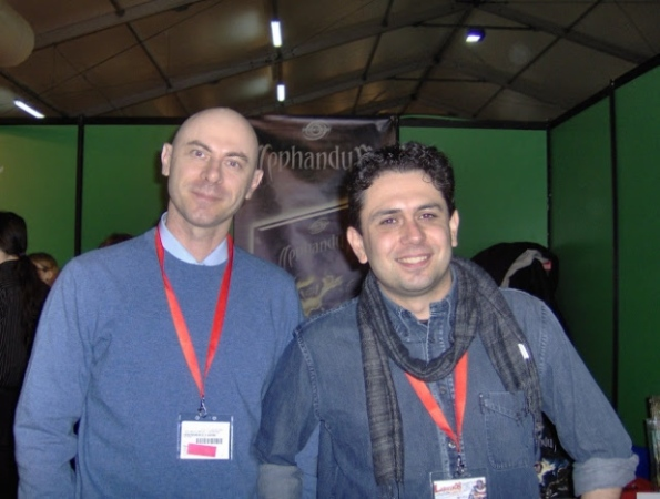 Luca Cattini e Massimo Bianchini sono anima e cuore della Asterion Press
