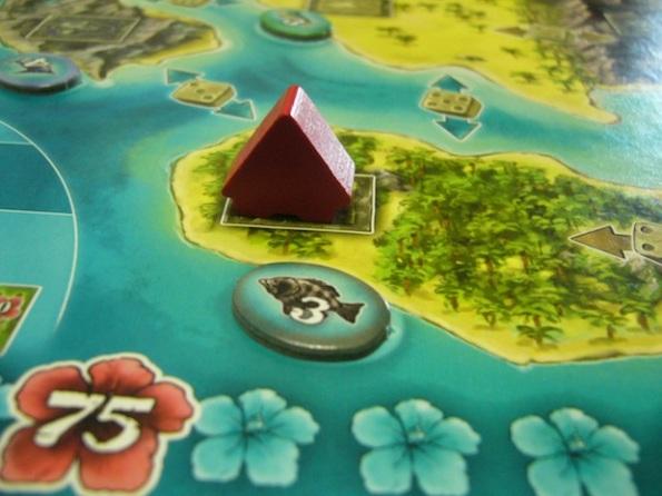 Una piccola capanna isolata, uno scenario comune per le partite a Bora Bora