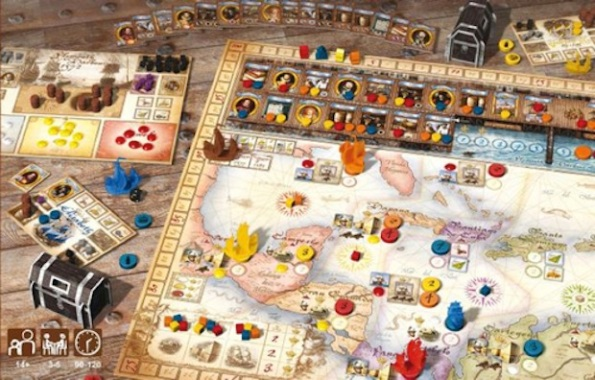 Un'immagine della componentistica di Francis Drake