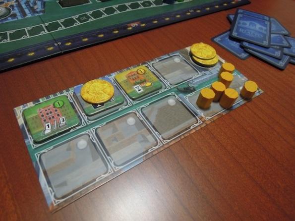 Plancia del giocatore durante una partita  Rialto