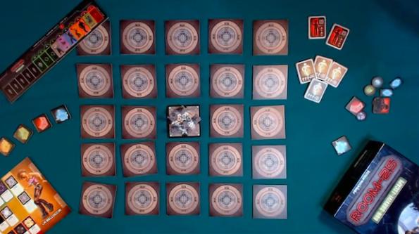 Una fase del video tutorial di Room 25