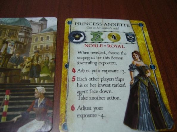 La principessa Annette si è già vista in Courtier ed in Love Letter