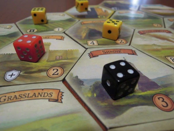 Medieval Mastery è una lotta tra dadi ehm cavalieri