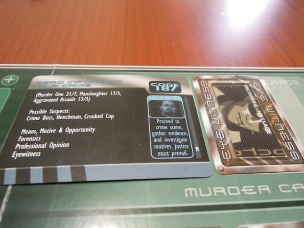 Le carte omicidio e le carte prova sono il fulcro di ogni indagine a Murder City