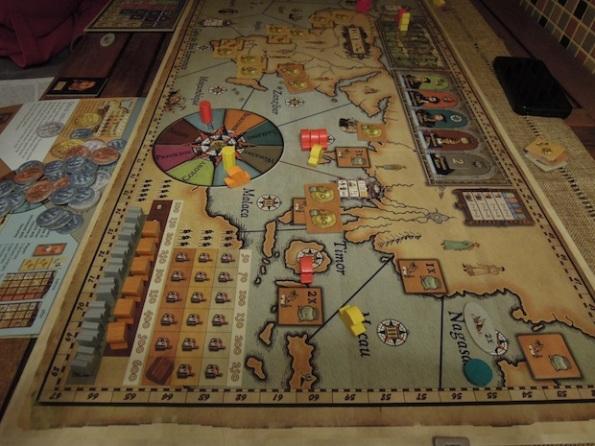 Il board di Navegador, uno dei giochi migliori di Mac Gerdts