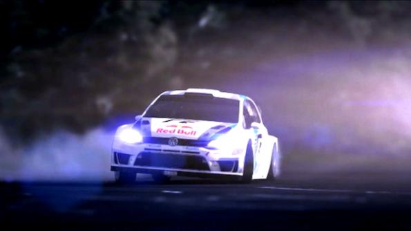 La sequenza di apertura di Rally The World. The Game per iPhone