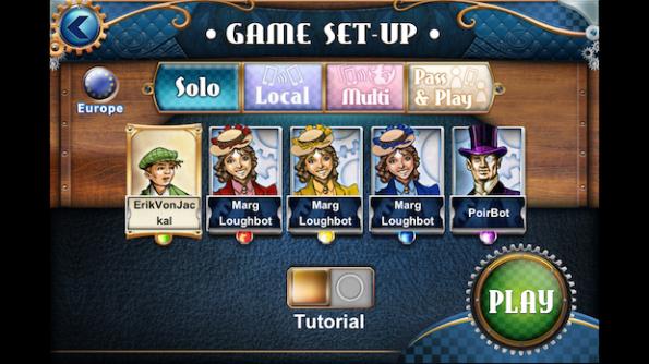 Il gioco in solitario è ben fatto ed avvincente esattamente come il gioco contro altri giocatori
