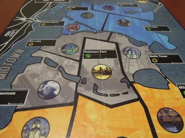 Il board di Batman GCSG riproduce la città di Gotham