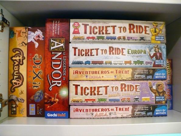 Davide Fornasini ha una passione sfegatata per Ticket To Ride