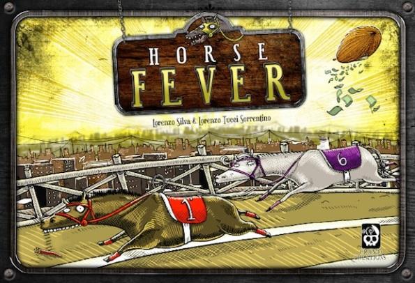 La scatola dell'ultima edizione di Horse Fever