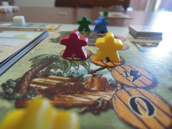 Naufragos è un gioco dove è necessario collaborare ma che alla fine ha un solo vincitore