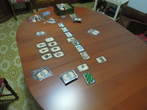 Setup per una partita di Revolver 2