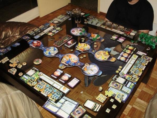 Per giocare a Starcraft c'è bisogno di un tavolo grande