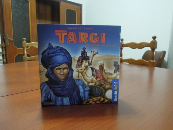 La scatola di Targi edizione Giochi Uniti