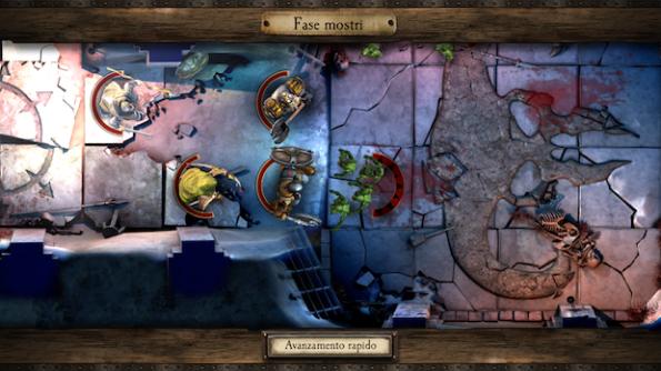 I dungeon sono molto ben disegnati e il gioco è molto fluido