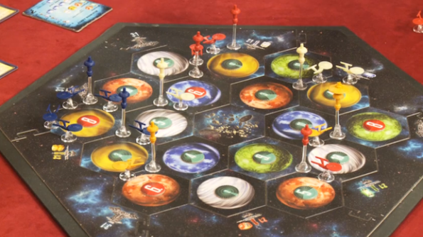 Star Trek: Catan sul tavolo di Table Top