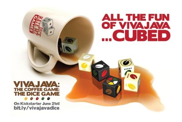 Un'immagine promozionale del gioco di dadi di VivaJava