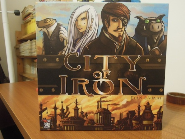 La scatola di City of Iron