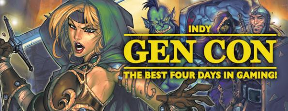 Come dice il logo, la Gen Con è il posto migliore al mondo dove giocare