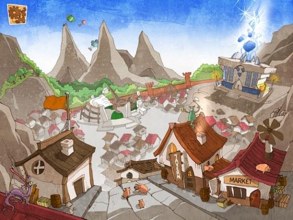 Ka-Boom è un gioco con una piacevolissima grafica cartoon