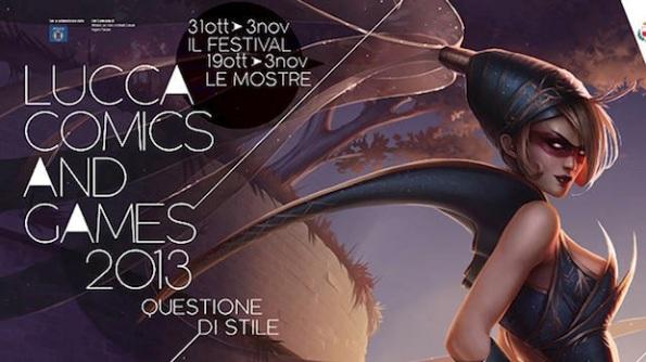 La locandina di Lucca Comics and Games edizione 2013