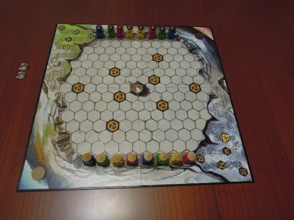 Il setup di una partita ad Ortus