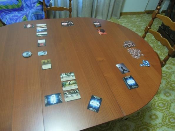 Il Setup di una partita a Star Wars: Il gioco di carte
