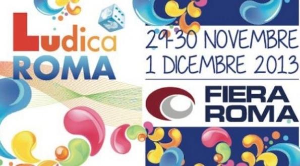 Logo e data di Ludica Roma 2013