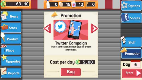 Una campagna su Twitter può far schizzare in alto le vendite del nostro gelato