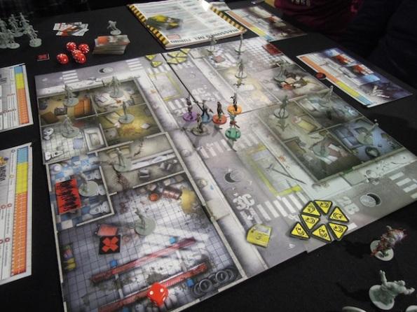 Zombicide è stato preso d'assalto fin dai primi minuti di Lucca Comics and Game 2013