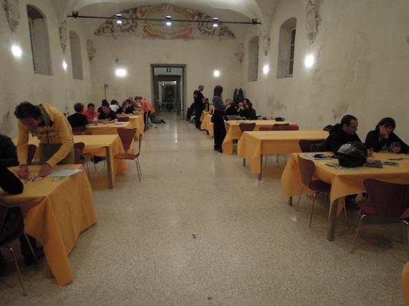 La quiete prima della serata Goblin a Lucca 2013