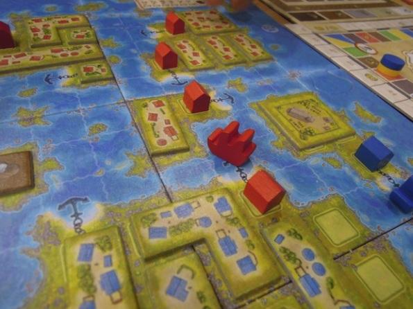 Amerigo è stato uno dei giochi più provati della prima giornata di Ludica