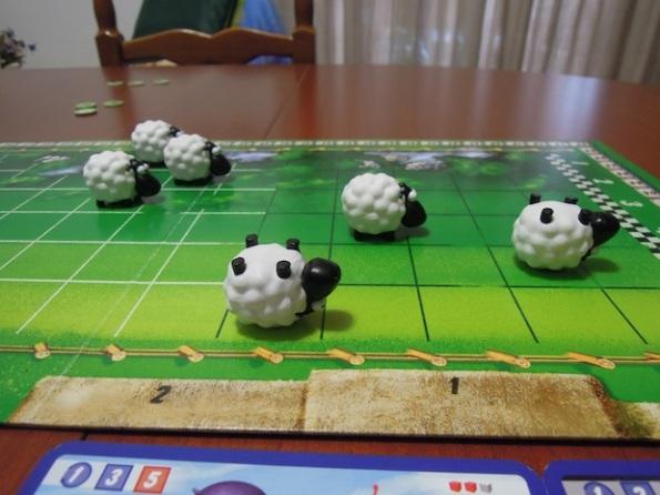 Non tutte le pecore hanno il fiatto per arrivare in fondo a The Sheep Race