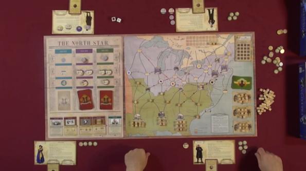Una fase di gioco a Freedom: The Underground Railroad