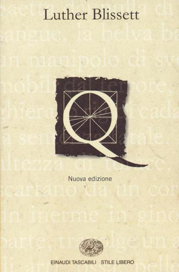 La copertina di Q il romanzo di Luther Blisset
