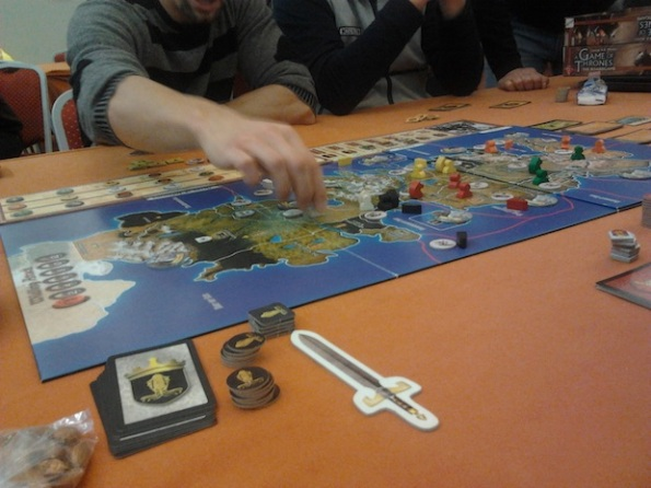 Il Trono di Spade è uno dei giochi più giocati alle convention in giro per il mondo
