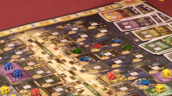 Lords of Vegas sul tavolo di Table Top